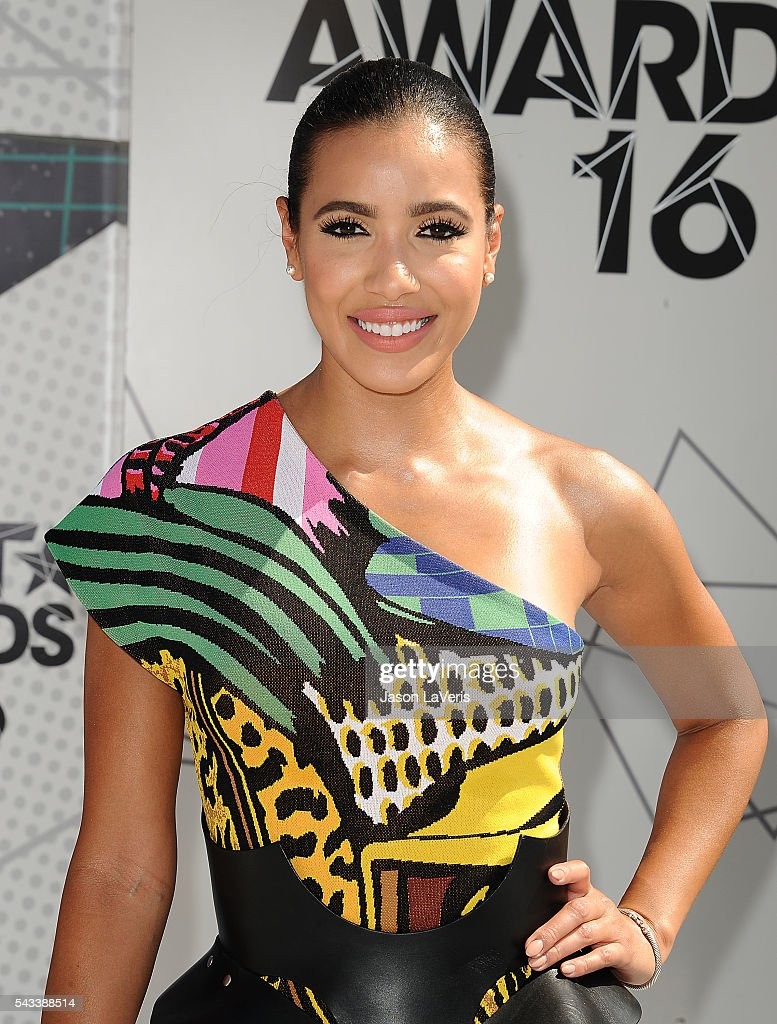 Julissa Bermudez attends the 2016 BET Awards at Microsoft Theater on June 26, 2016 in Los Angeles, California.