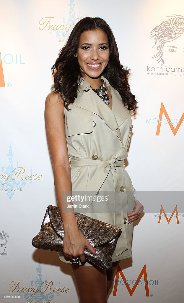 Julissa Bermudez attends the 'Cuts Of Our Infirmities' book launch party at the Tracy Reese Boutique on April 22, 2010 in New York City.
