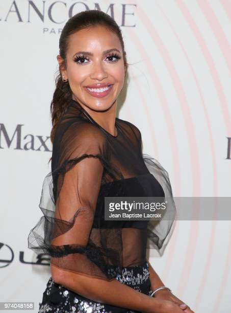 Julissa Bermudez attends the Women In Film 2018 Crystal Lucy Awards at The Beverly Hilton Hotel on June 13 2018 in Beverly Hills California