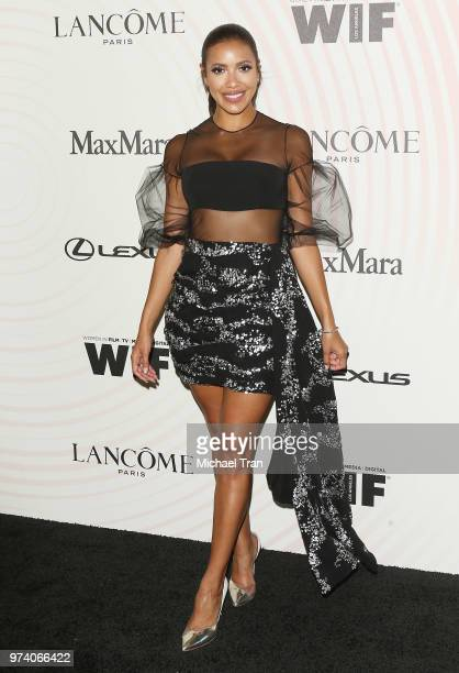 Julissa Bermudez attends the Women In Film 2018 Crystal Lucy Awards held at The Beverly Hilton Hotel on June 13 2018 in Beverly Hills California