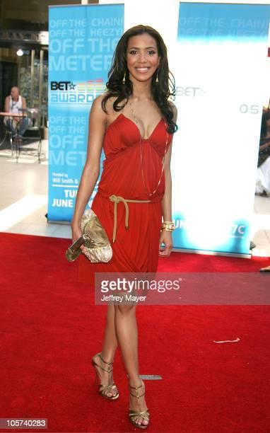Julissa Bermudez during 2005 BET Awards Arrivals at Kodak Theatre in Hollywood California United States