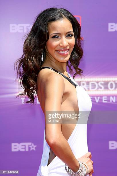 Julissa Bermudez during BET Awards 2007 Arrivals at Shrine Auditorium in Los Angeles California United States