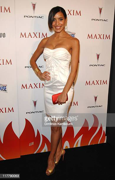 Julissa Bermudez during Maxim's 8th Annual Hot 100 Party Red Carpet at The Gansevoort Hotel in New York City New York United States