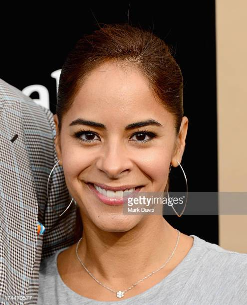 Julissa McBride arrives as AMC Celebrates the final episodes of Breaking Bad at Sony Pictures Studios on July 24 2013 in Culver City California