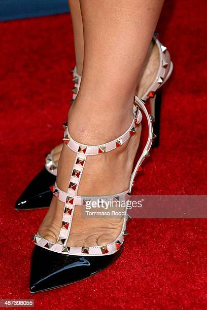Julissa Mcbride attends the Mom's Night Out Los Angeles premiere held at the TCL Chinese Theatre IMAX on April 29 2014 in Hollywood California