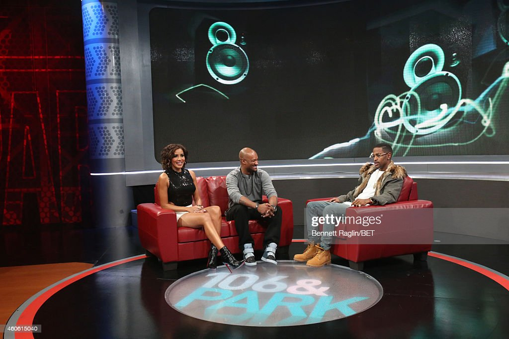 Julissa, Tigger, and Big Sean attends 106 & Park at BET studio on December 17, 2014 in New York City.