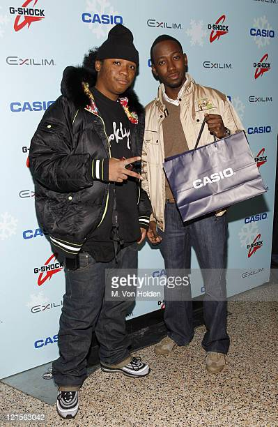 Julito McCullum and Lamorne Morris during Stuff Magazine Toys for Bigger Boys - Casio Gifting Area at Hammerstein Ballroom in New York City, New...