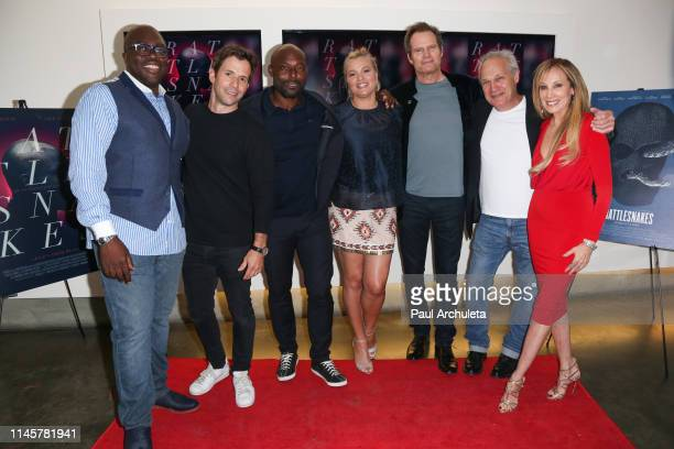 Julius Amedume Christian Oliver Jimmy JeanLouis Kathleen McClellan Jack Coleman Jay Acovone and Cindy Cowan attend the Los Angeles Special Screening...