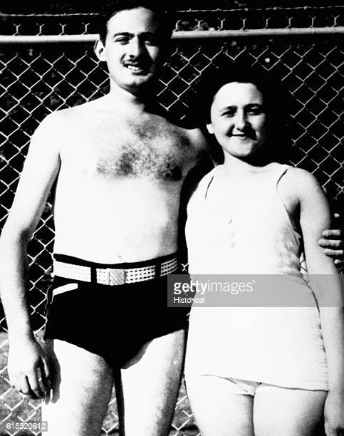 Julius and Ethel Rosenberg dressed in swimming attire They were convicted of selling atomic secrets to the USSR in the early 1950s and on June 19...