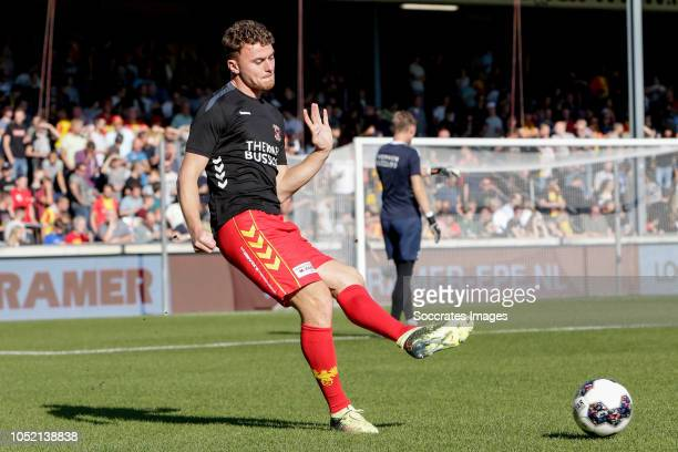 Julius Bliek of Go Ahead Eagles during the Dutch Keuken Kampioen Divisie match between Go Ahead Eagles v Roda JC at the De Adelaarshorst on October...
