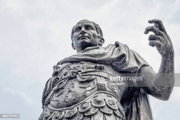 julius caesar magnificent gesture - roman stock pictures, royalty-free photos & images