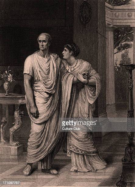 Julius Caesar play by William Shakespeare Julius Caesar and Calphurnia Calphurnia O Caesar These things are beyond all use And I do fear them Painted...