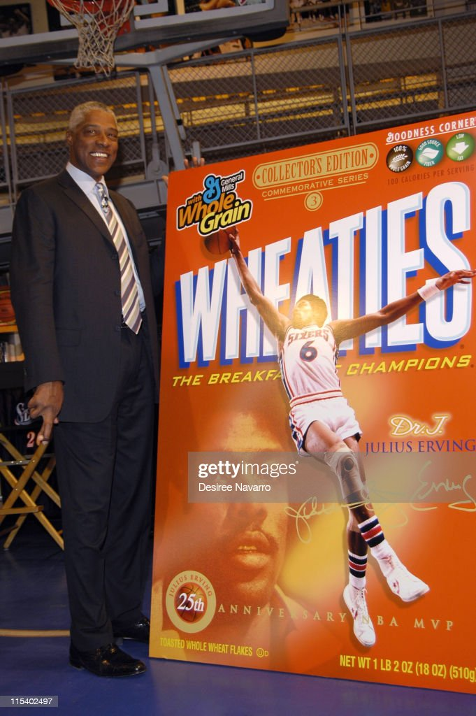 Dr. J Soars Onto the Wheaties Box