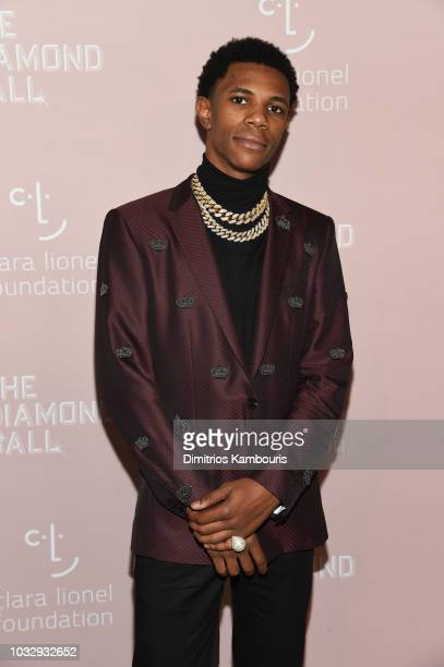Julius Dubose attends Rihanna's 4th Annual Diamond Ball benefitting The Clara Lionel Foundation at Cipriani Wall Street on September 13 2018 in New...
