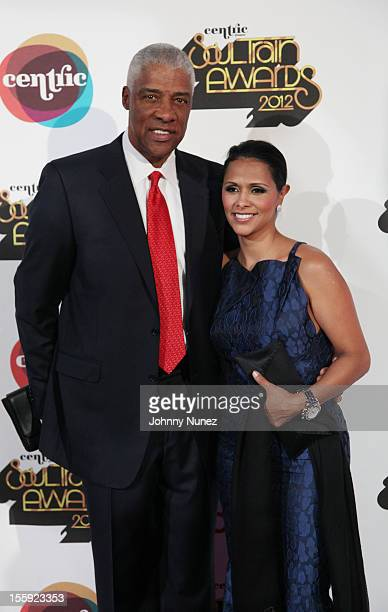 Julius Erving and Dorys Erving attend the Soul Train Awards 2012 at Planet Hollywood Casino Resort on November 8 2012 in Las Vegas Nevada