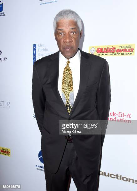 Julius Erving attends the 17th Annual Harold Carole Pump Foundation Gala at The Beverly Hilton Hotel on August 11 2017 in Beverly Hills California
