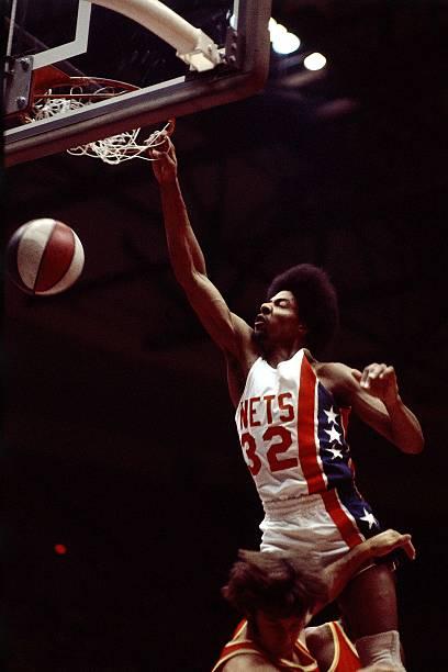 "Julius ""Dr. J"" Irving of the New York Nets 1"