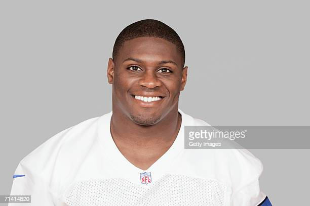 Julius Jones of the Dallas Cowboys poses for his 2006 NFL headshot at photo day in Dallas Texas