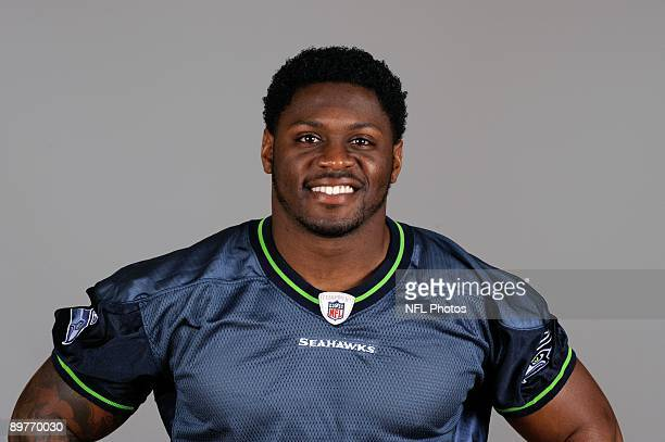Julius Jones of the Seattle Seahawks poses for his 2009 NFL headshot at photo day in Seattle Washington