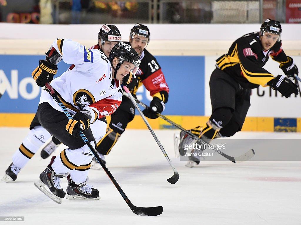 Vienna Capitals v Karpat Oulu - Champions Hockey League Round of 16 : News Photo