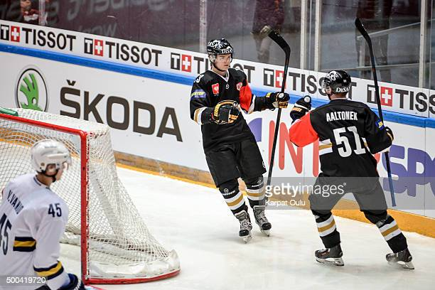 Julius Junttila of Karpat Oulu scored the opening goal of the match just after 56 seconds of game played during the Champions Hockey League quarter...