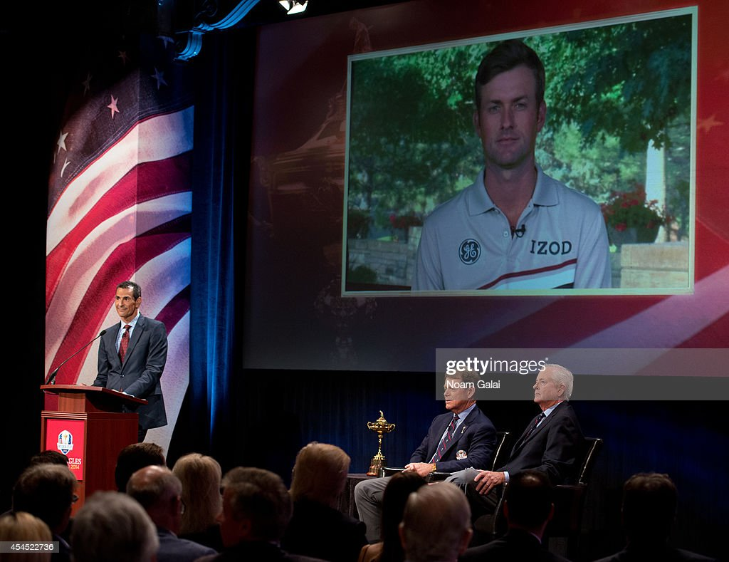 U.S. Ryder Cup Captain's Picks News Conference : News Photo