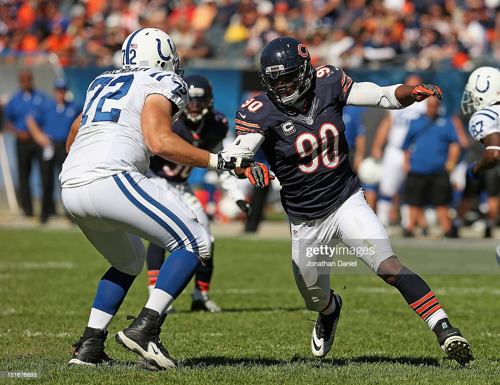 Indianapolis Colts v Chicago Bears : News Photo
