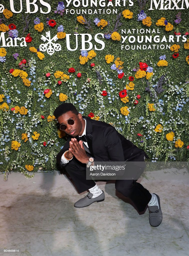 Julius Rodriguez attends National YoungArts Foundation Backyard Ball Performance and Gala 2018 on January 13, 2018 in Miami, Florida.