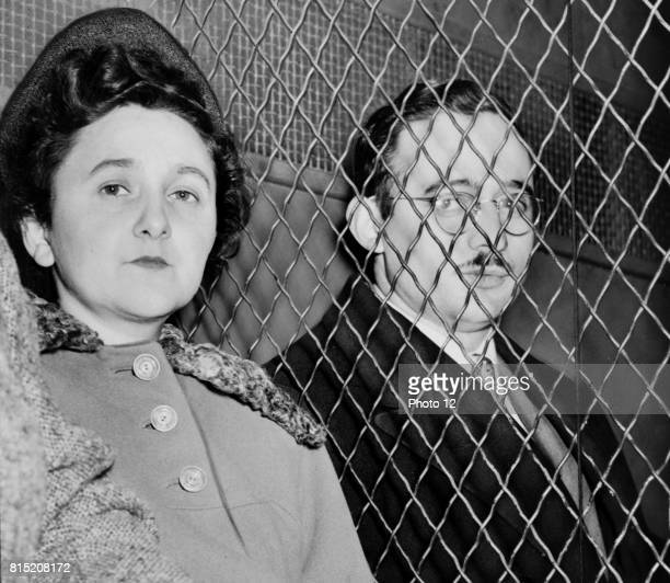 Julius Rosenberg and Ethel Rosenberg American communists executed after having been found guilty of conspiracy to commit espionage The charges were...