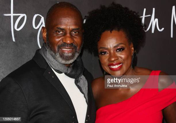 Julius Tennon and Viola Davis attend the premiere of the series finale of ABC's How To Get Away With Murder' at Yamashiro Hollywood on February 08...