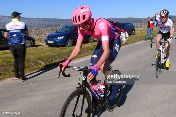 Julius Van Den Berg of The Netherlands and Team EF Education First / Feed Zone / during the 4th Tour de La Provence 2019 Stage 2 a 1956km race from...