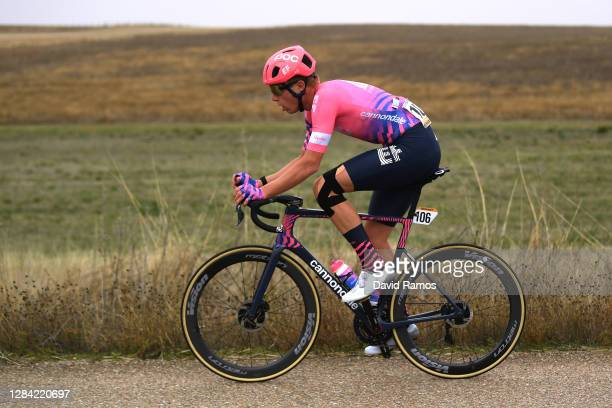 Julius Van Den Berg of The Netherlands and Team EF Pro Cycling / during the 75th Tour of Spain 2020, Stage 16 a 162km stage from Salamanca to Ciudad...
