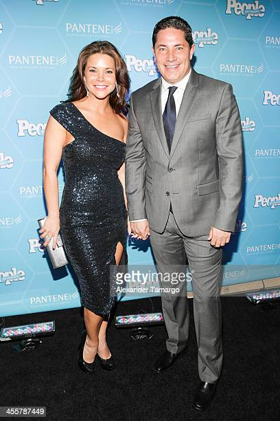Jullye Giliberti and Fernando del Rincon arrive at the Estrellas Del Ano De People En Espanol party at The James Royal Palm Hotel on December 12 2013...