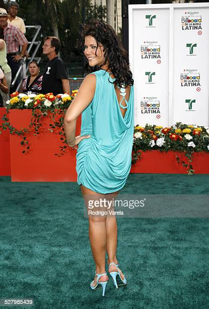 Jullye Giliberti during Billboard Latin Music Conference and Awards 2007 Arrivals at Bank United Center in Coral Gables Florida United States