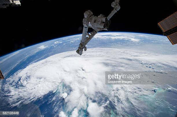 July 1, 2014 - Tropical Storm Arthur as seen from the International Space Station.