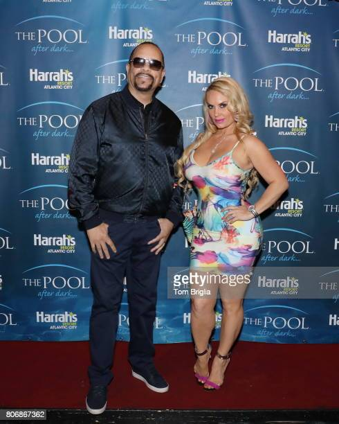 IceT and Coco Austin host The Pool After Dark at Harrah's Resort on Saturday July 1 2017 in Atlantic City New Jersey