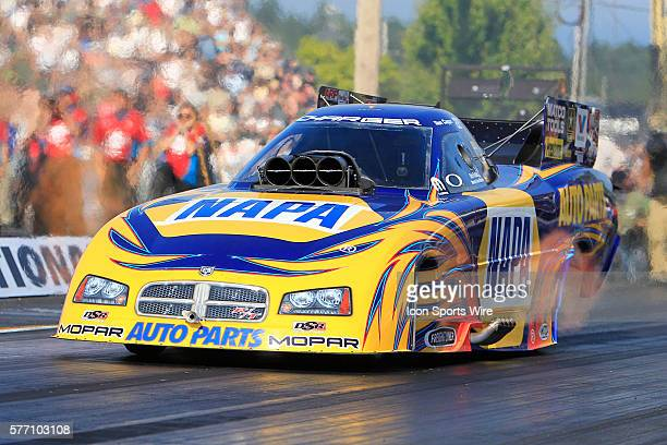Ron Capps during the NORTHWEST NATIONALS at the Pacific Raceways in Kent, Washington