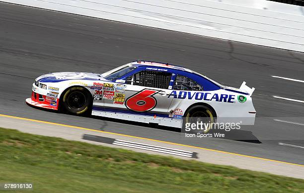 Trevor Bayne during practice for the Nationwide Series Sta-Green 200 at New Hampshire Motor Speedway in Loudon, NH.