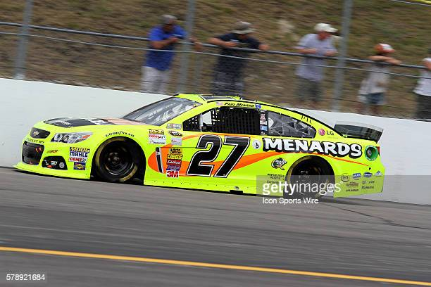 Paul Menard during the running of the Sprint Cup Series Camping World RV Sales 301 at New Hampshire Motor Speedway in Loudon, NH.