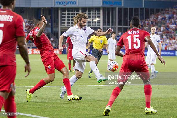 [ during the CONCACAF Gold Cup Group Stage match between Panama and the USA at Sporting Park in Kansas City Kansas The match would end in a 11 tie