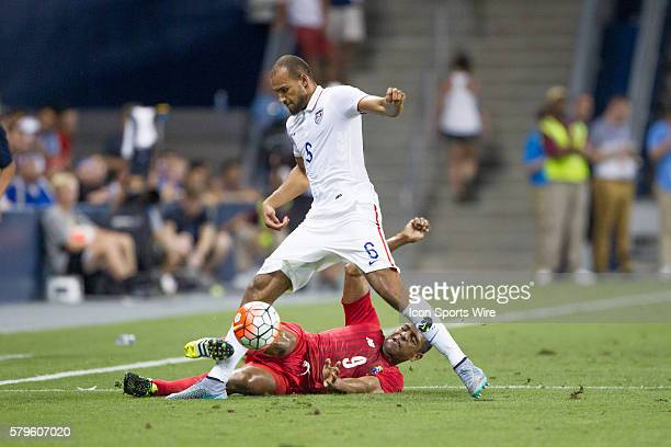 Team USA John Brooks during the CONCACAF Gold Cup Group Stage match between Panama and the USA at Sporting Park in Kansas City Kansas The match would...