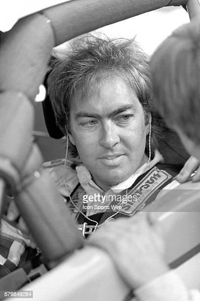 Garrett Evans Pontiac Firebird driver waits for the start of the Sound Advice 100 NASCAR Northwest Tour event at Evergreen Speedway in Monroe...