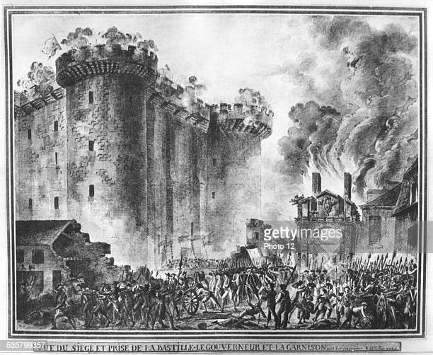 July 14 1789 Storming of the Bastille