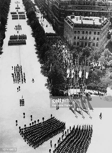July 14Th Parade In Paris On 1939