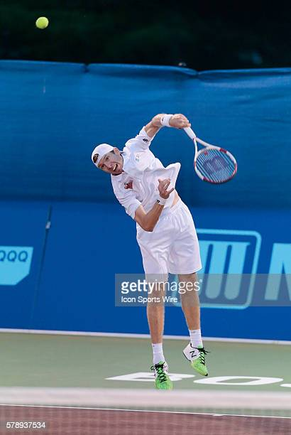 Boston Lobsters Eric Butorac The Boston Lobsters defeated the Austin Aces 2018 in a World Team Tennis match at Boston Lobsters Tennis Center at the...