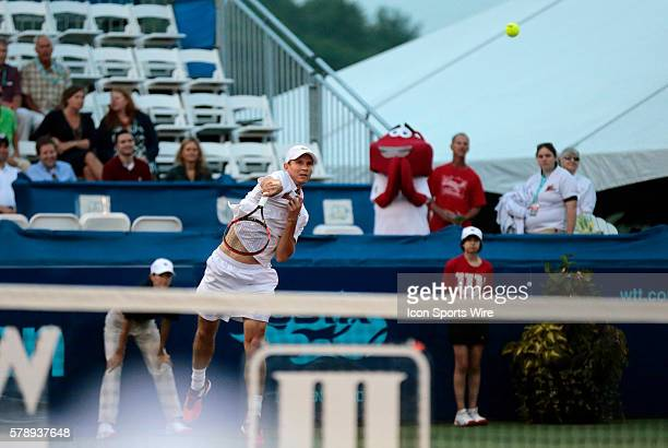 Boston Lobsters Rick de Voest The Boston Lobsters defeated the Austin Aces 2018 in a World Team Tennis match at Boston Lobsters Tennis Center at the...