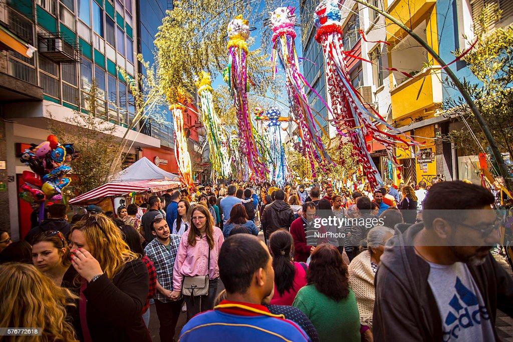 Tanabata Festival in Sao Paulo : News Photo