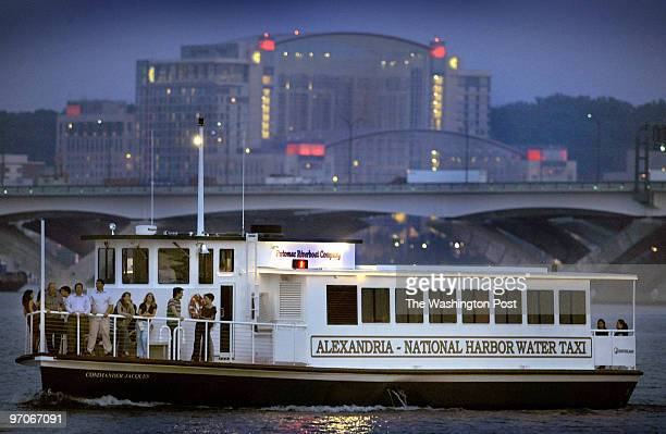 Me-taxi Assignment #: 202540 water taxi Alexandria to National Harbor Alexandria Harbor near torpedo factory Photographer: Gerald Martineau One of...