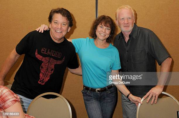 July 18 2009 Burbank Ca Anson Williams Erin Moran and Donny Most The Hollywood Collectors Celebrities Show Held at the Burbank Airport Marriott Hotel...