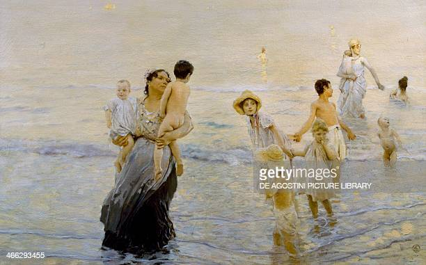 July 18931894 painting by Ettore Tito oil on canvas 100x158 cm